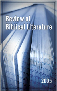Review of Biblical Literature: 2005 | Logos Bible Software