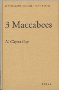 3 Maccabees: Commentary
