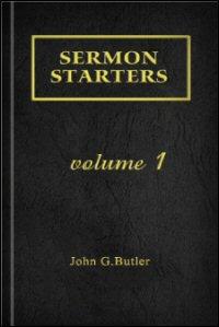 Sermon Starters, Volume 1
