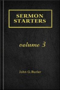 Sermon Starters, Volume 3