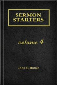 Sermon Starters, Volume 4