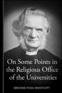 On Some Points in the Religious Office of the Universities