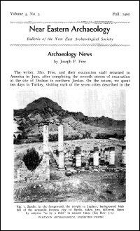 Near Eastern Archaeology: Bulletin of the Near East Archaeological Society, Vol. 3, No. 3, Fall 1960