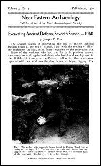 Near Eastern Archaeology: Bulletin of the Near East Archaeological Society, Vol. 3, No. 4, Fall–Winter 1960