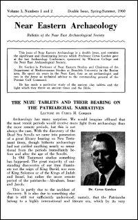 Near Eastern Archaeology: Bulletin of the Near East Archaeological Society, Volume 3, Nos. 1–2, Spring–Summer 1960
