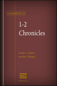 A Handbook on 1–2 Chronicles, Volumes 1 & 2