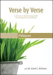 Verse by Verse through the Book of Philippians