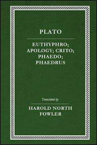 Euthyphro, Apology, Crito, Phaedo, Phaedrus: English Text