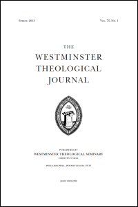 Westminster Theological Journal Volume 75