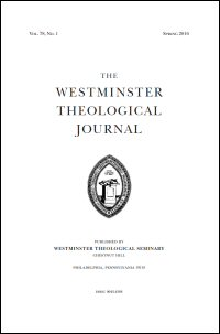 Westminster Theological Journal Volume 78